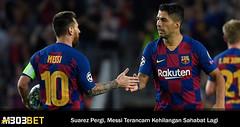 Lionel Messi Semakin Sendiri Di Barcelona Usai Suarez Pergi