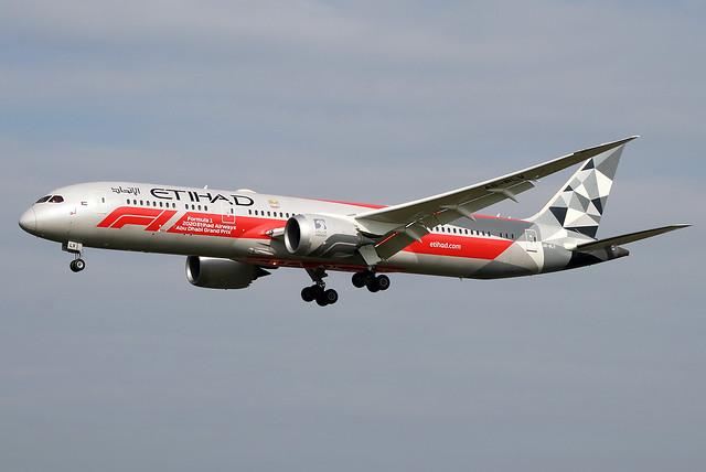 Etihad 787-9 A6-BLV