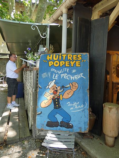 huîtres Popeye