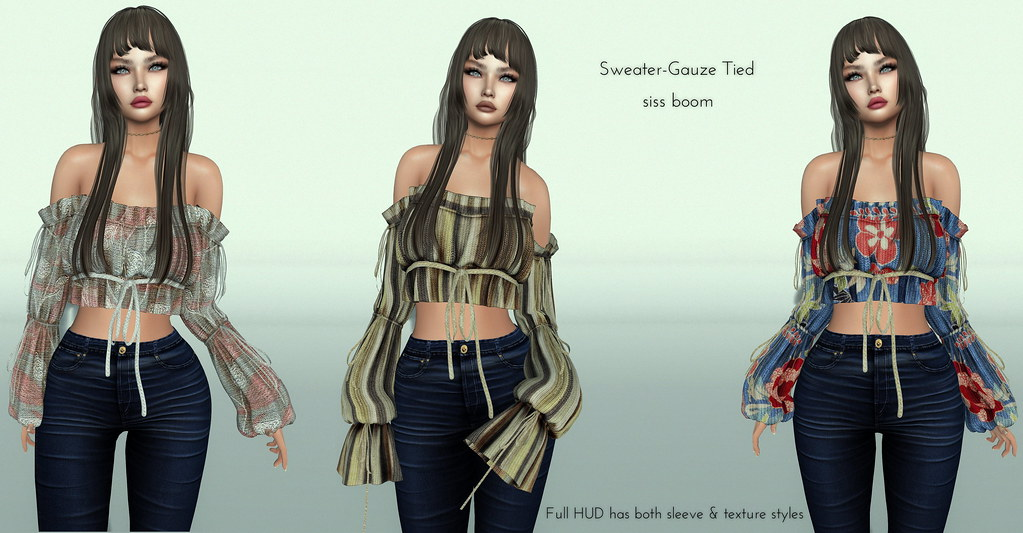 -siss boom-sweater-gauze tied ad