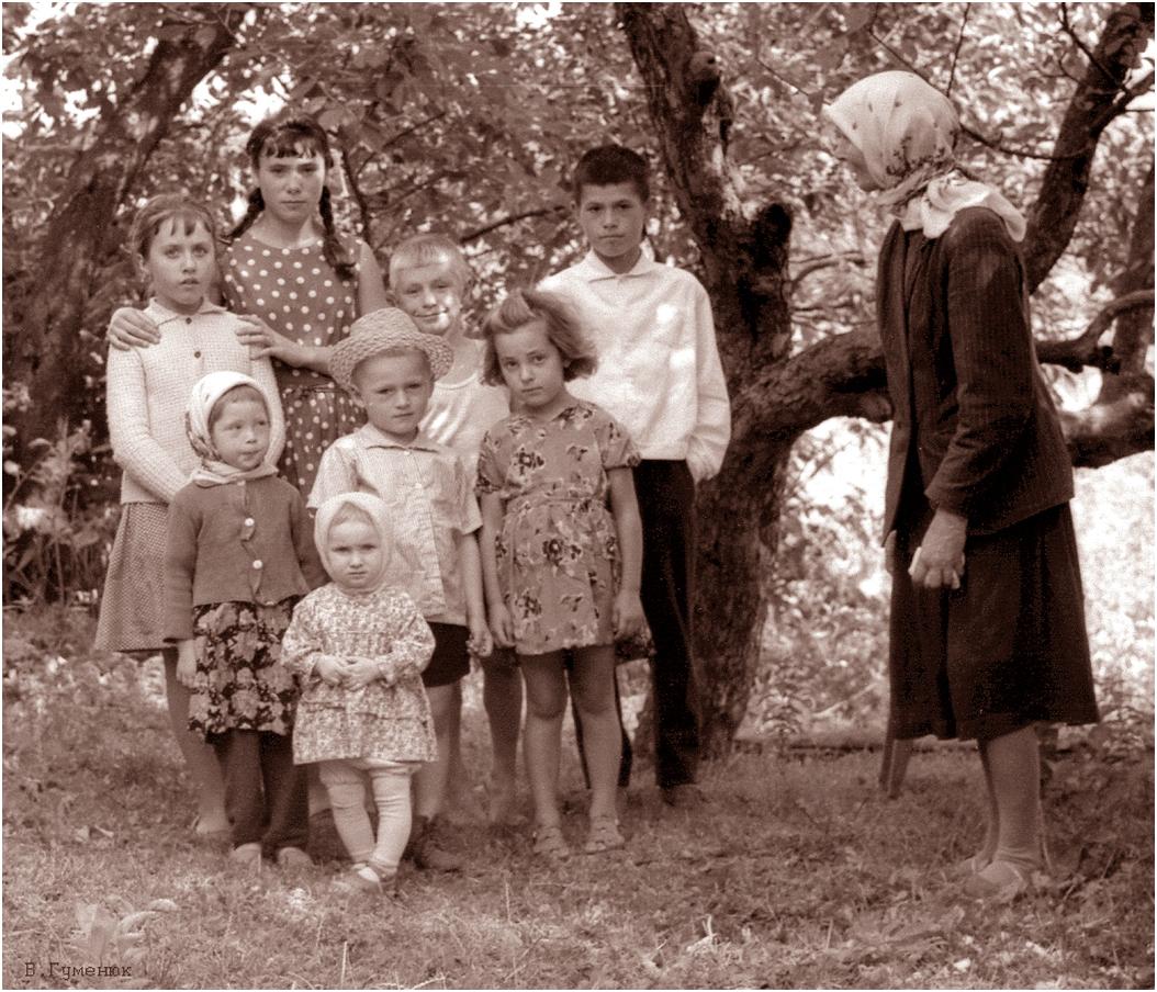 24. 1967. Деражня. Групповой портрет