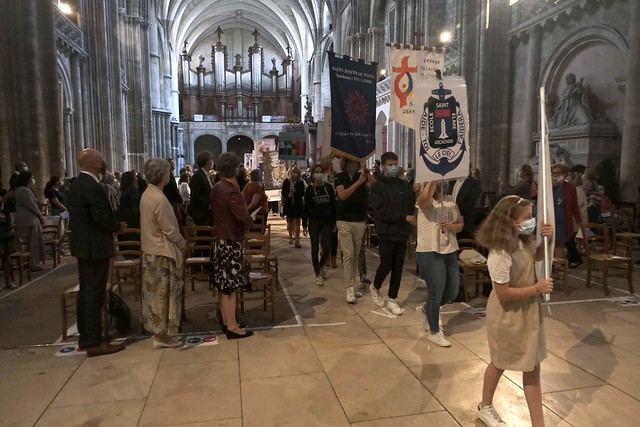 Messe de rentrée de l'Enseignement catholique en Gironde - 2020