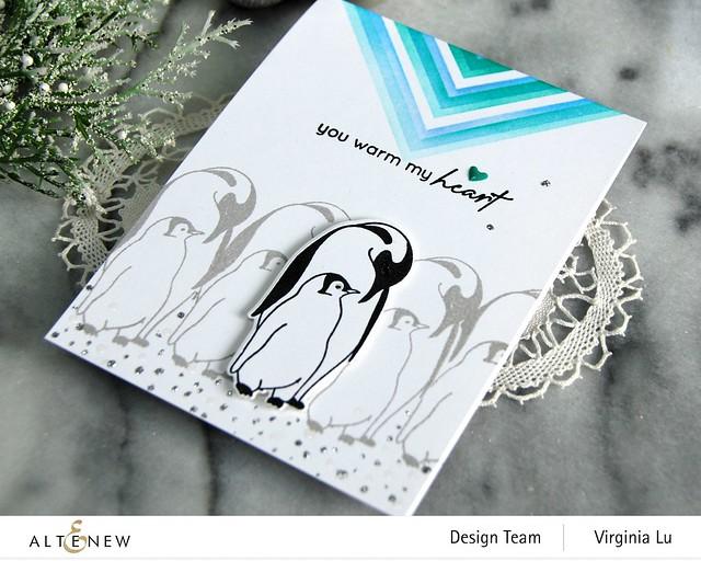 Altenew-Warm Heart Stamp Set-Warm Heart Die Set-The Mighty Corner Stencil-001