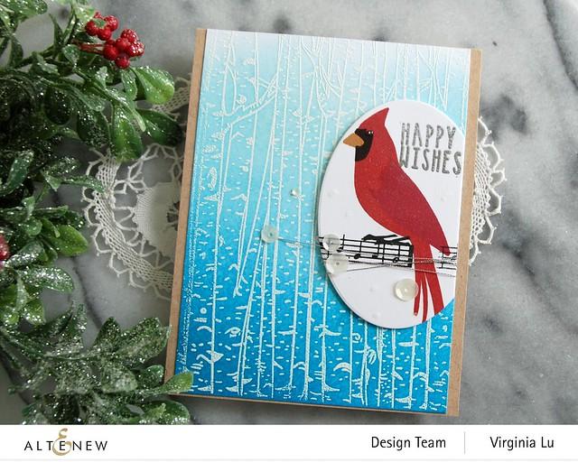 Altenew-Birch Forest Stamp Set-Season's Tweetings-Create-a-Wreath Die Set (2)