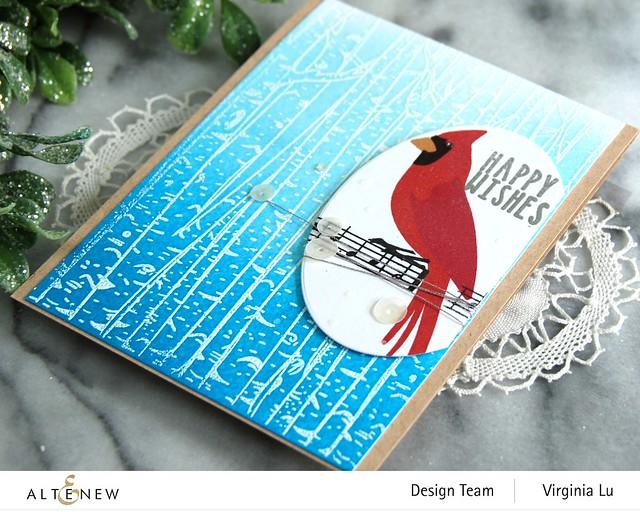 Altenew-Birch Forest Stamp Set-Season's Tweetings-Create-a-Wreath Die Set-002