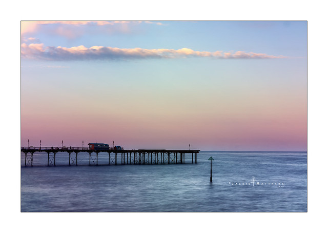 Long exposure at Teignmouth Pier, Devon ...