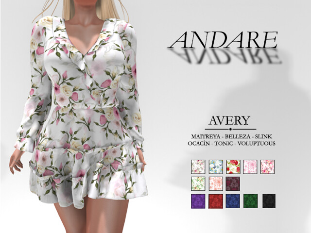 Andare – Avery Dress FATPACK