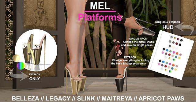 [Misfit] Platforms Heels
