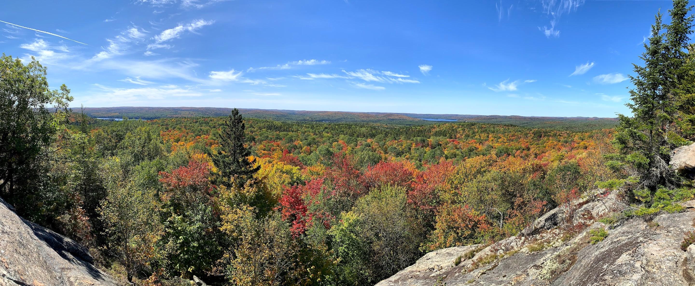 Centennial Ridge Panorama