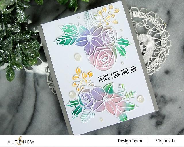 Festive Clusters Die Set-Ink blending Tool (Small)-Pale Gray Card Stock-002