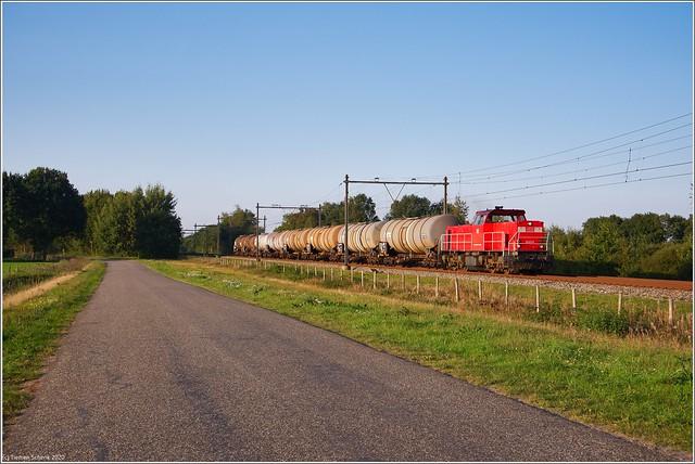 DBC 6454 + Afvoertrein 61300, De Punt
