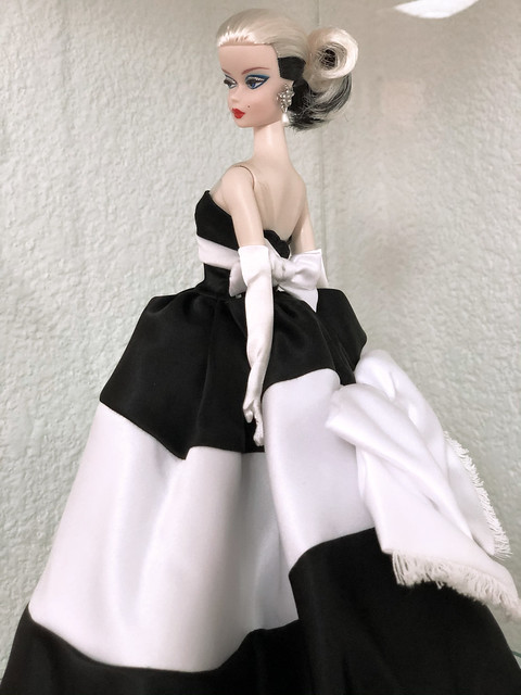 Barbie Fashion Model Collection Black and White Forever Silkstone Barbie