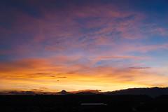 Quito: todays sunrise el amanecer de hoy