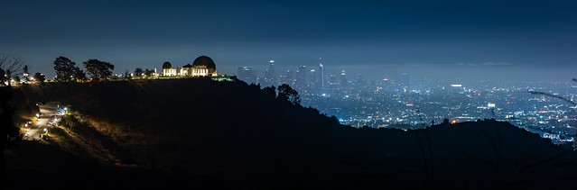 Griffith Observatory over Los Angeles
