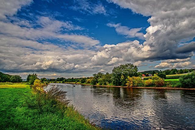 Weser bei Vlotho