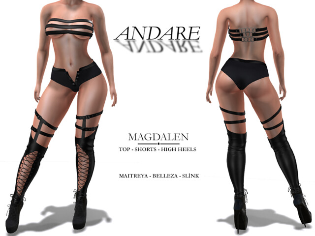 Andare – Magdalen Outfit Black