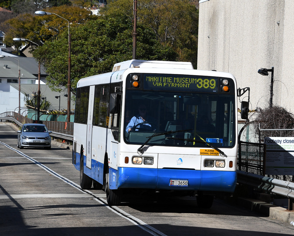 Bus 3650, Darlinghurst, Sydney, NSW.