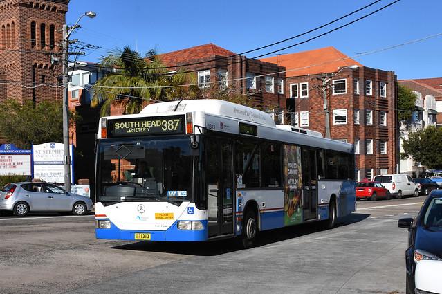 Bus 1313, Bellevue Hill, Sydney, NSW.
