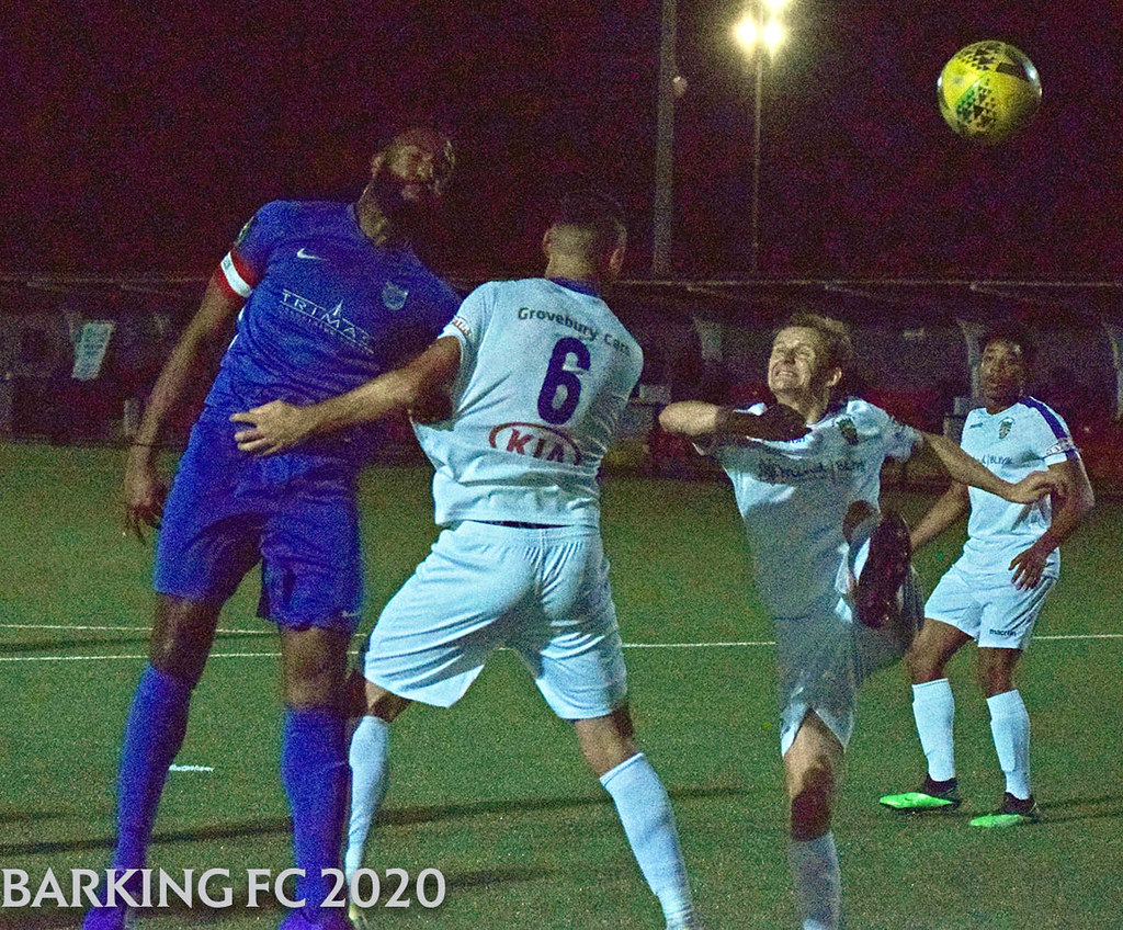 Barking FC v Dunstable Town FC - Tuesday September 22nd 2020