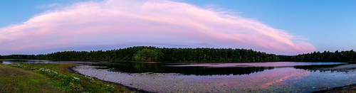 panorama pond park sunset lake nikon d750 sigma 14mm art lens