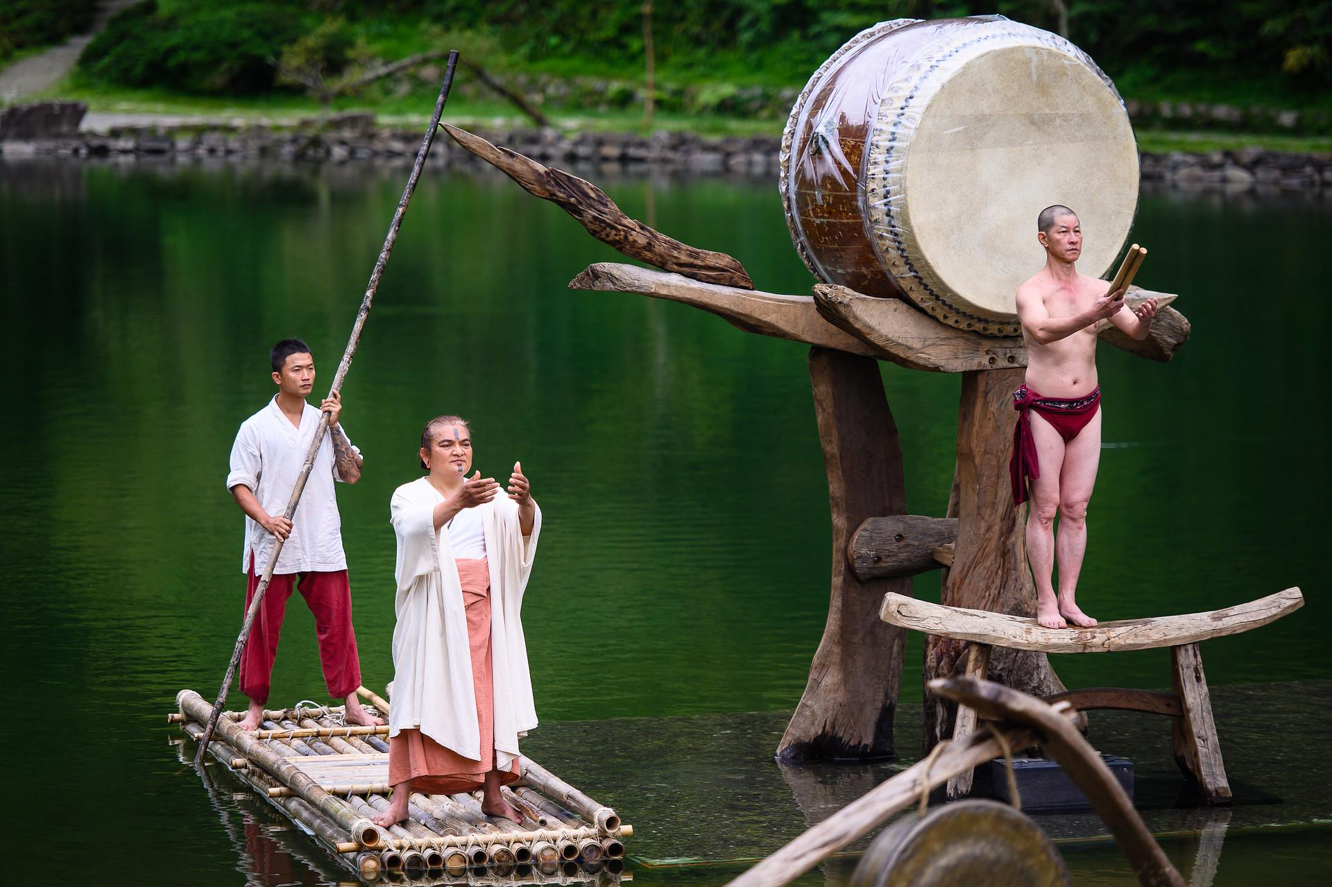 [活動攝影]優人神鼓明池水劇場-即拍即印