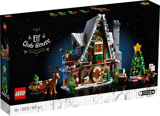 LEGO 10275 創意系列【小精靈俱樂部】Elf Club House
