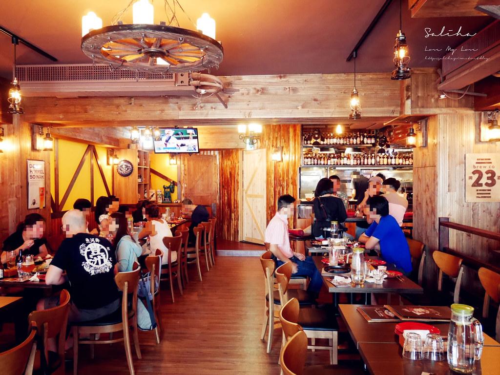 台北東區美食推薦ABV美式餐廳不限時早午餐下午茶約會聚餐小酌喝酒運動酒吧 (3)