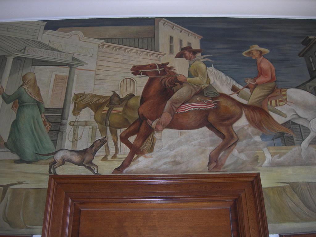 Helper Utah Post Office Mural