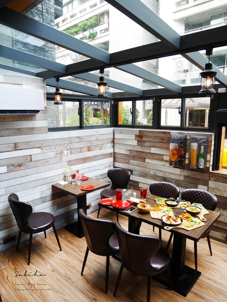 台北東區不限時餐廳推薦美食ABV美式餐廳浪漫玻璃屋早午餐brunch異國料理 (3)