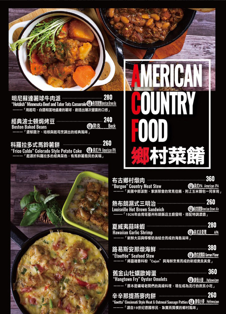台北東區ABV美式餐廳排餐早午餐菜單menu酒品價格訂位低消費 (5)