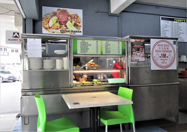 Yummy's Kafe rojak mamak stall