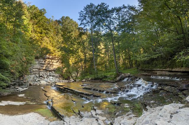Flat Creek Falls, Flat Creek, Overton County, Tennessee 2