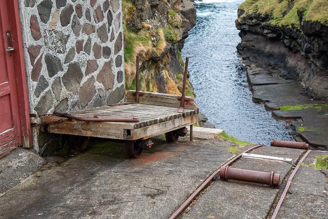 Trolley in Gjógv - Faroe Islands
