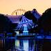 Sunset Carousel Reflexion