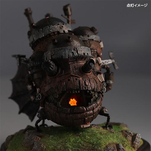 BENELIC《霍爾的移動城堡》移動城堡發光雕像 超萌的卡西法燃燒吧~