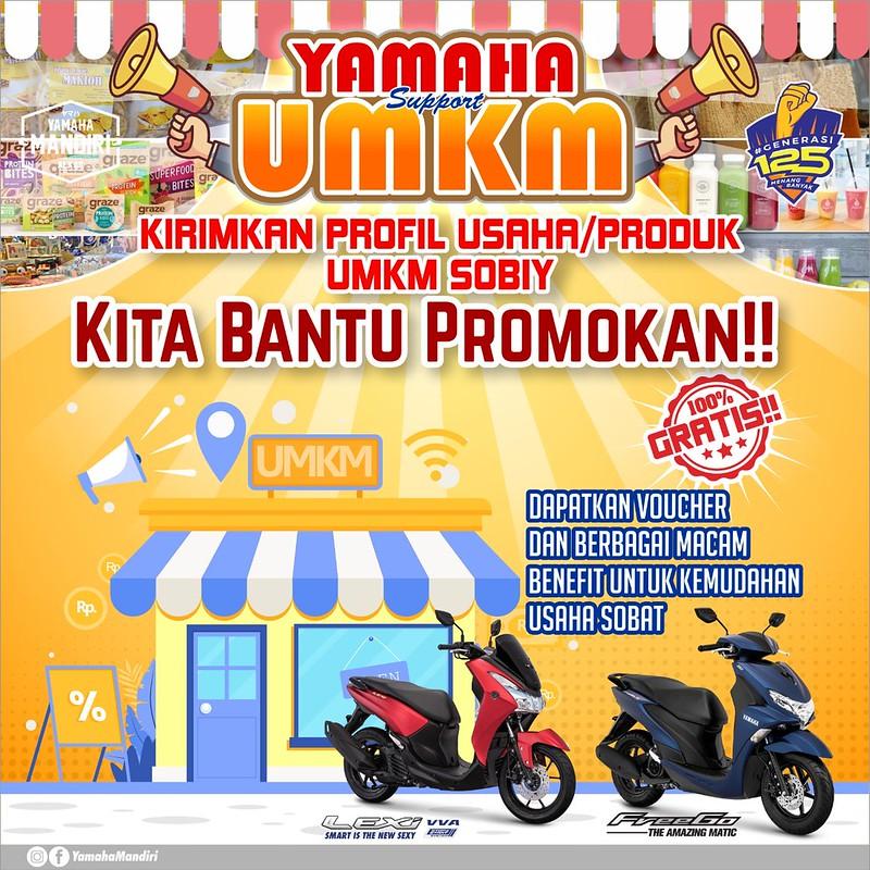 Yamaha Dukung UMKM