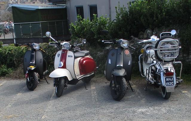 Three Royal Alloys and a Lambretta