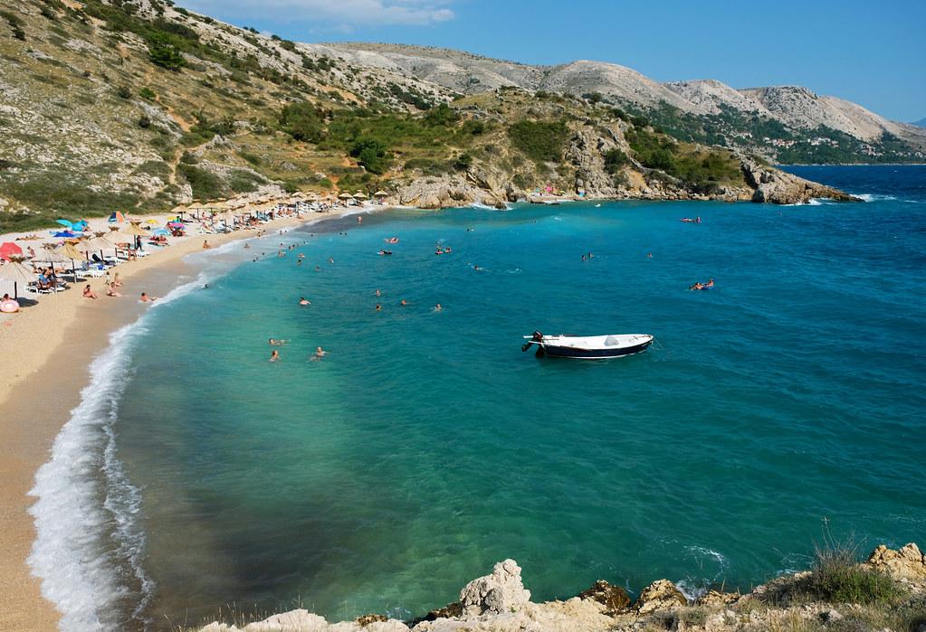 Croatian Beaches You've Never Heard Of: Oprna Bay, Krk Island, Croatia