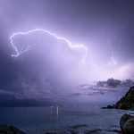 22. September 2020 - 21:27 - Orage du 22 septembre 2020 St-Barthelemy - Shell Beach