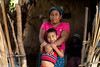 """Rosa Elvira and her youngest son Axel know what it means. He was barely 2 when they were both hospitalised for acute malnutrition.   """"He was all swollen. His mouth was covered in blisters,"""" says Rosa Elvira. """"He was not moving, like if he was paralysed.""""  They had been surviving on 1 tortilla with a pinch of salt per day, almost a third of a croissant. It took them 40 days to get back on track.  © European Union, 2020 (photographer: S. Billy)"""