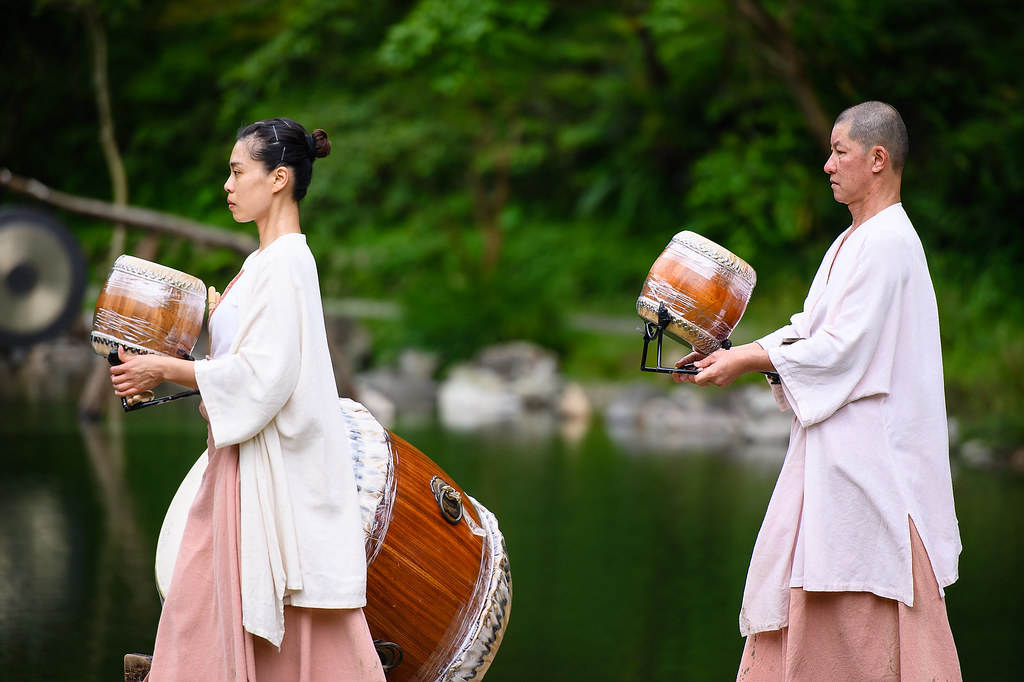 [活動攝影]優人神鼓明池水劇場-婚動拍攝