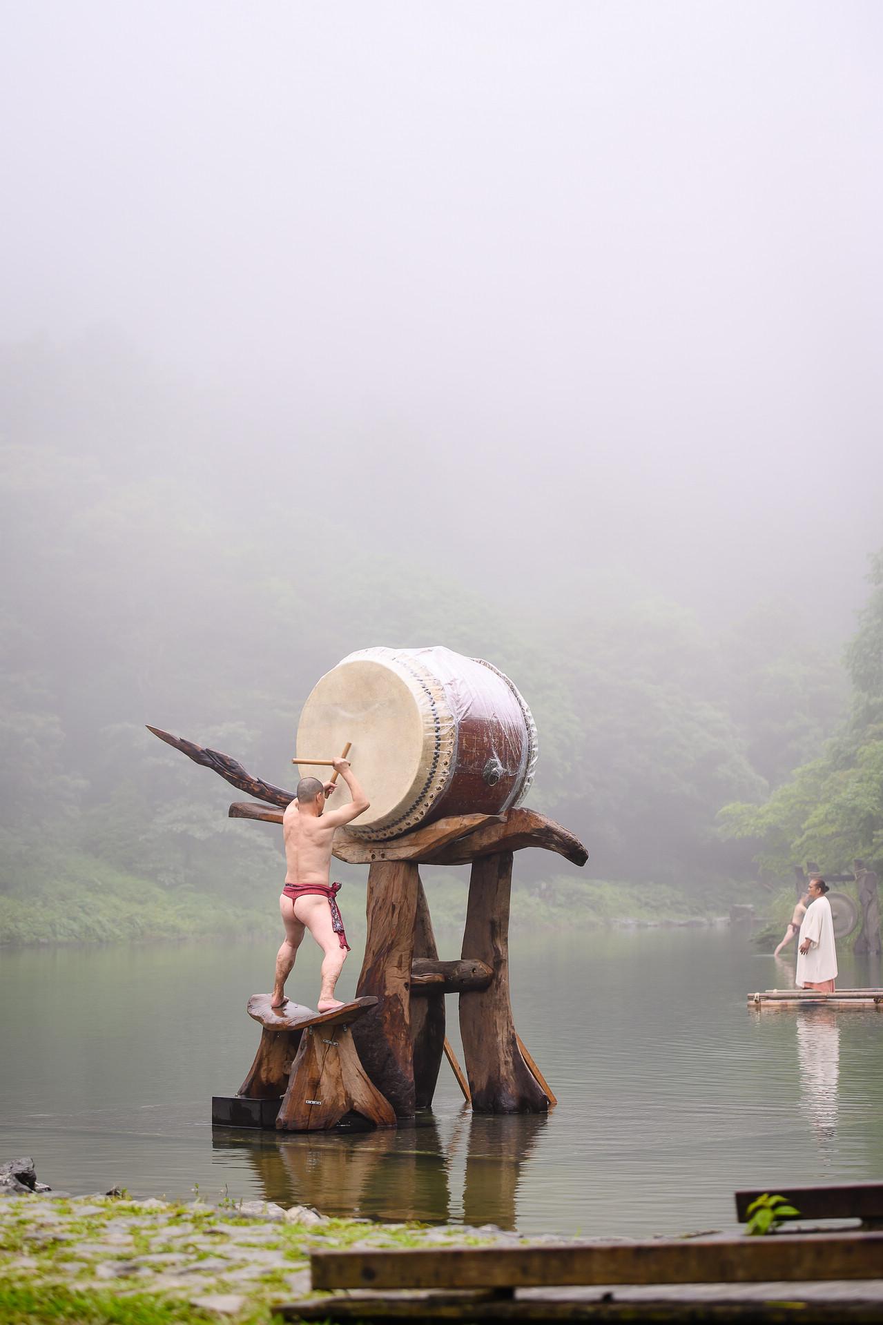 [活動攝影]優人神鼓明池水劇場-活動攝影