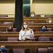 Marga Prohens en su turno de preguntas al Gobierno durante la Sesión de Control. (23/09/2020)