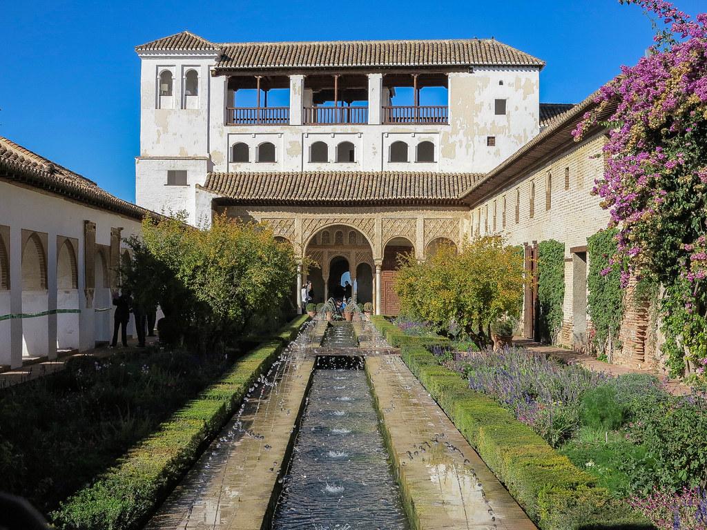 El Generalife en la Alhambra