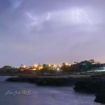 22. September 2020 - 19:56 - Fulmini alla Baia di Tramontone, Taranto (Puglia)