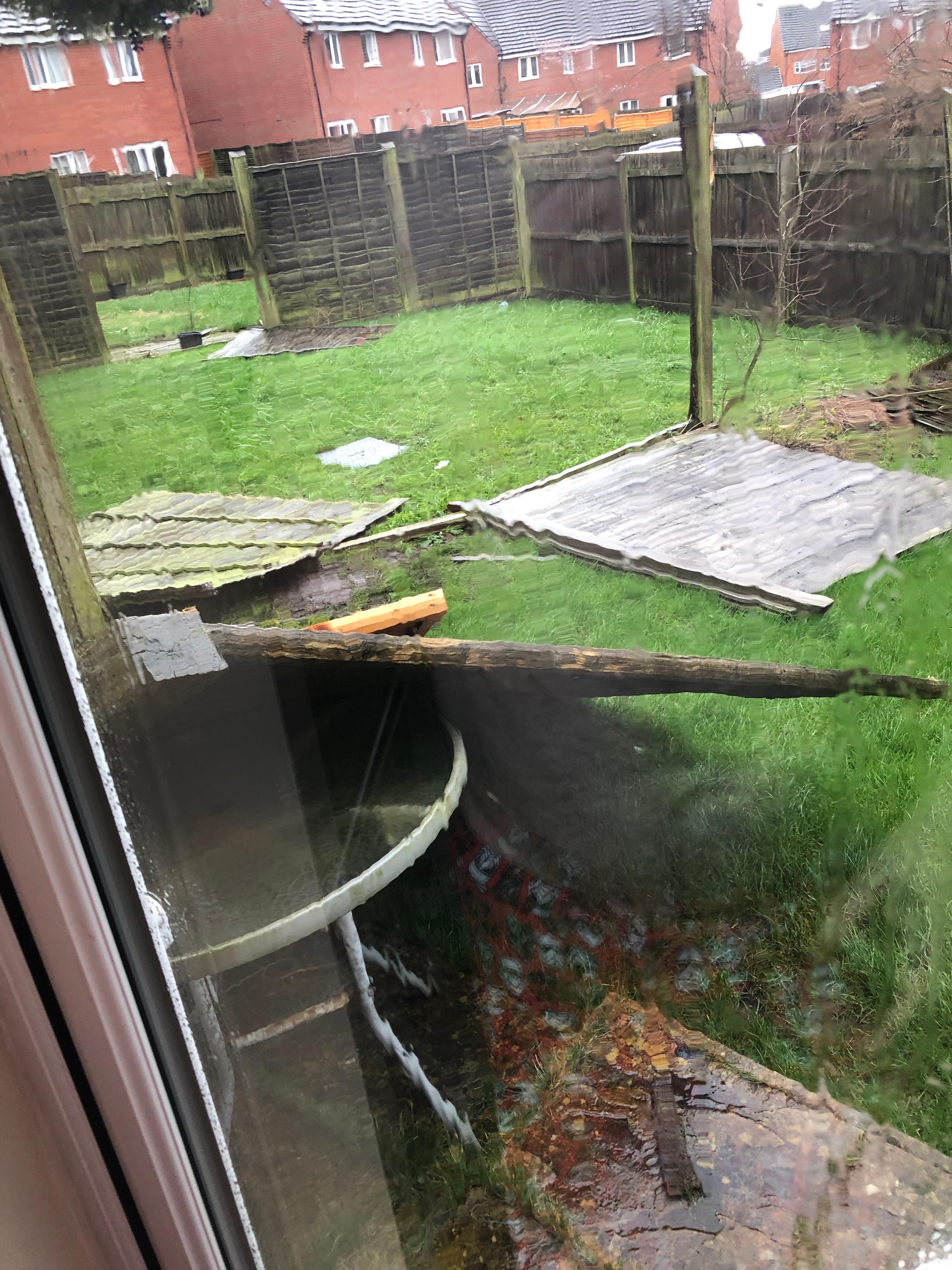 garden fence disaster