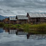 Floating village - Inle Lake