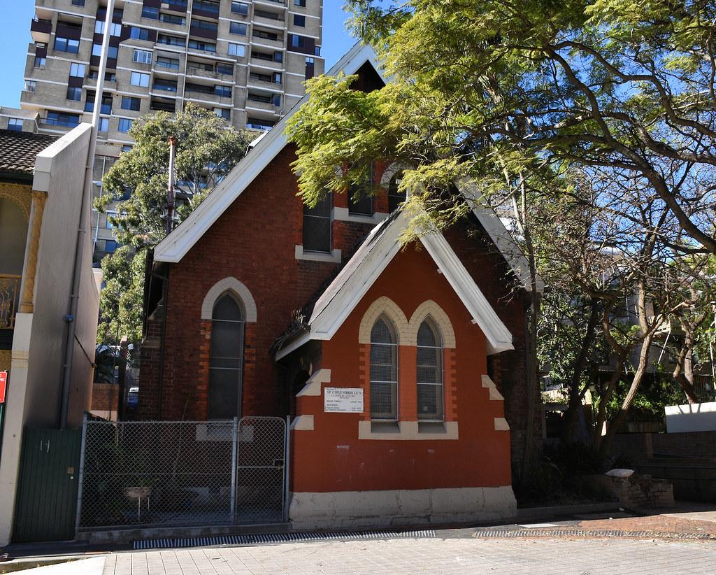 St Columbkille's Catholic Church, Wooloomooloo, Sydney, NSW.