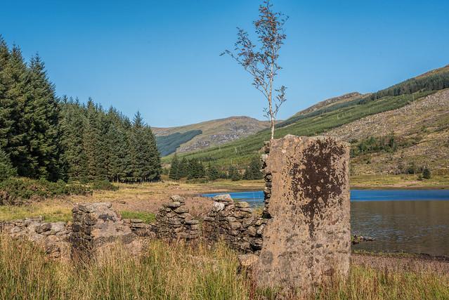 Loch Tarsan Ruins 1