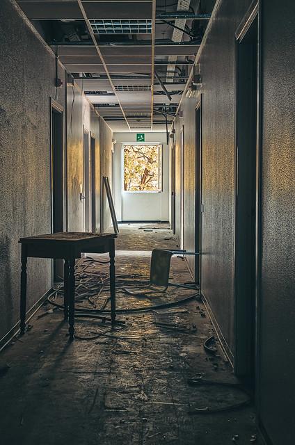 Casa di riposo abbandonata